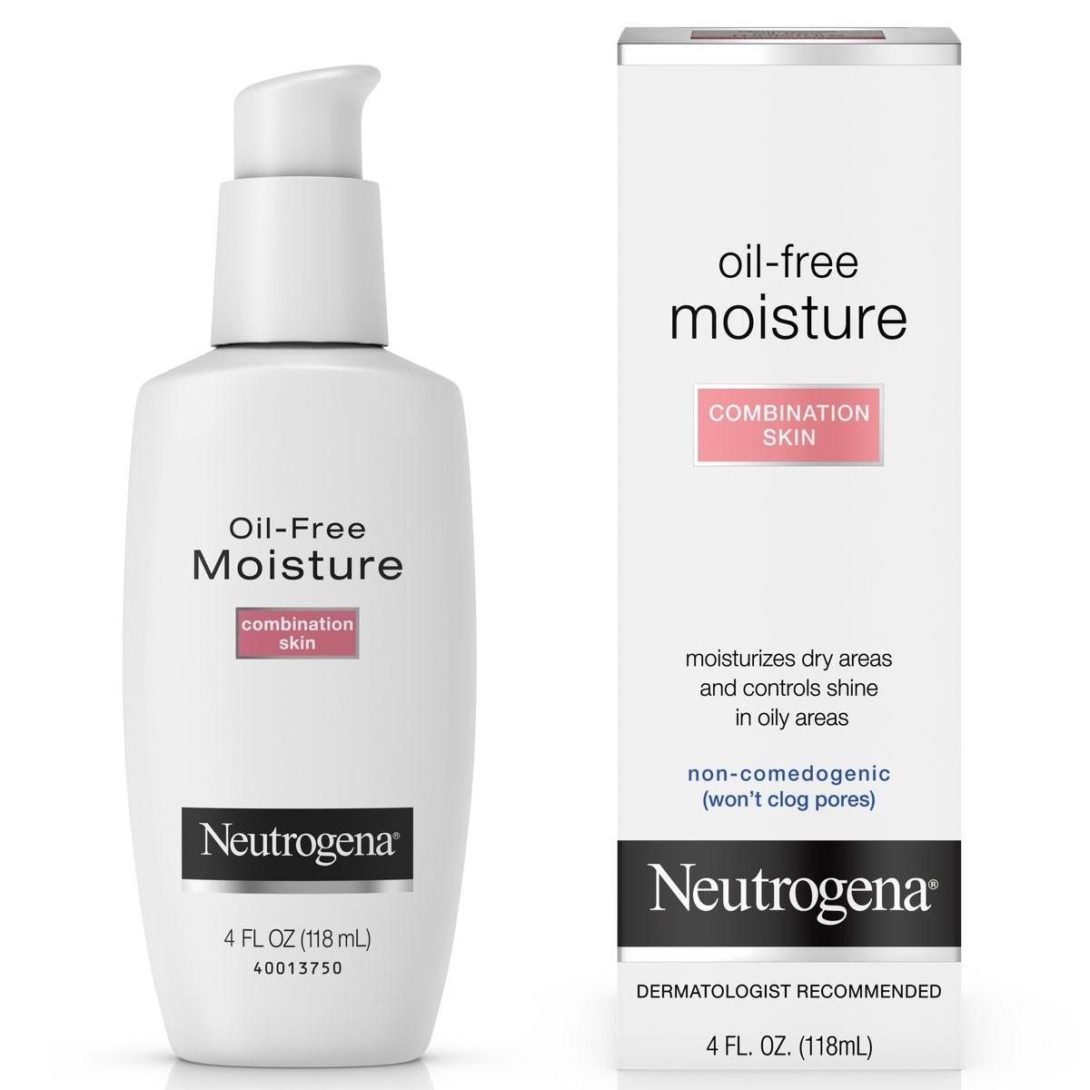 Neutrogena Oil-Free Moisture-Combination Skin