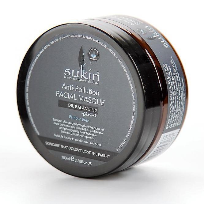 Sukin Oil Balancing Plus Charcoal Anti-Pollution Facial Masque