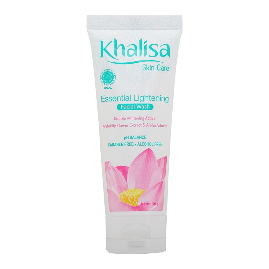 Khalisa Lip Care Essential Lightening Facial Wash