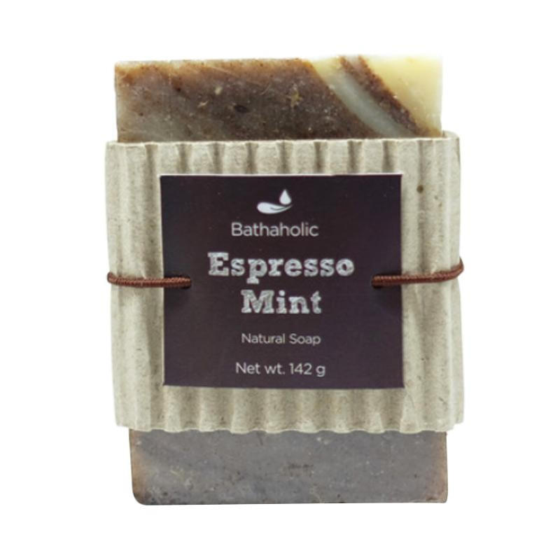 Bathaholic Espresso Mint Natural Soap