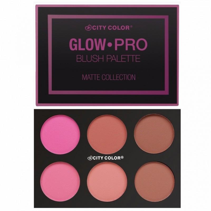 City Color Glow Pro Blush Palette