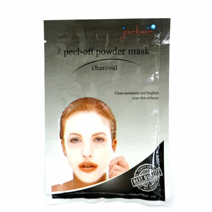 Jordanie Peel Off Powder Mask Charcoal