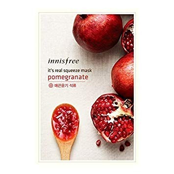 Innisfree It's Real Squeeze Mask Sheet (Pomegranate)