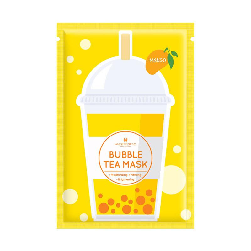 Annies Way Bubble Tea Mask Series Mango