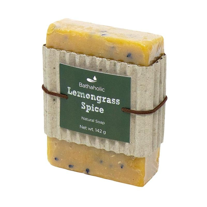 Bathaholic Lemongrass Spice Natural Soap
