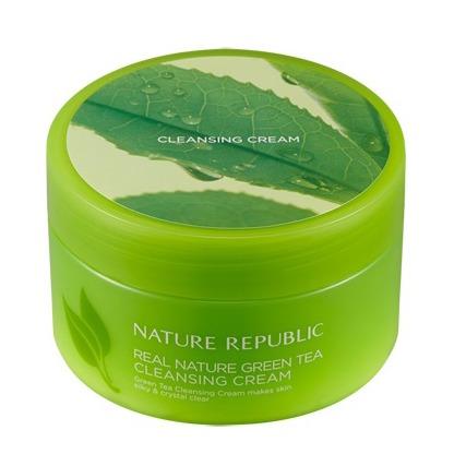 Nature Republic Real Nature Green Tea Cleansing Cream