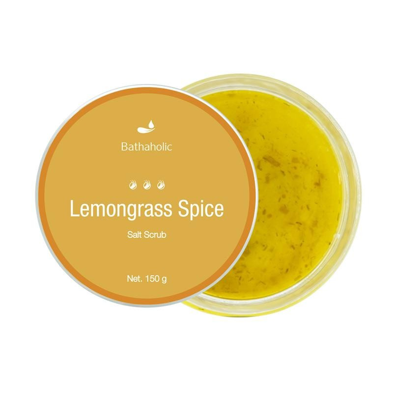 Bathaholic Lemongrass Spice Salt Scrub