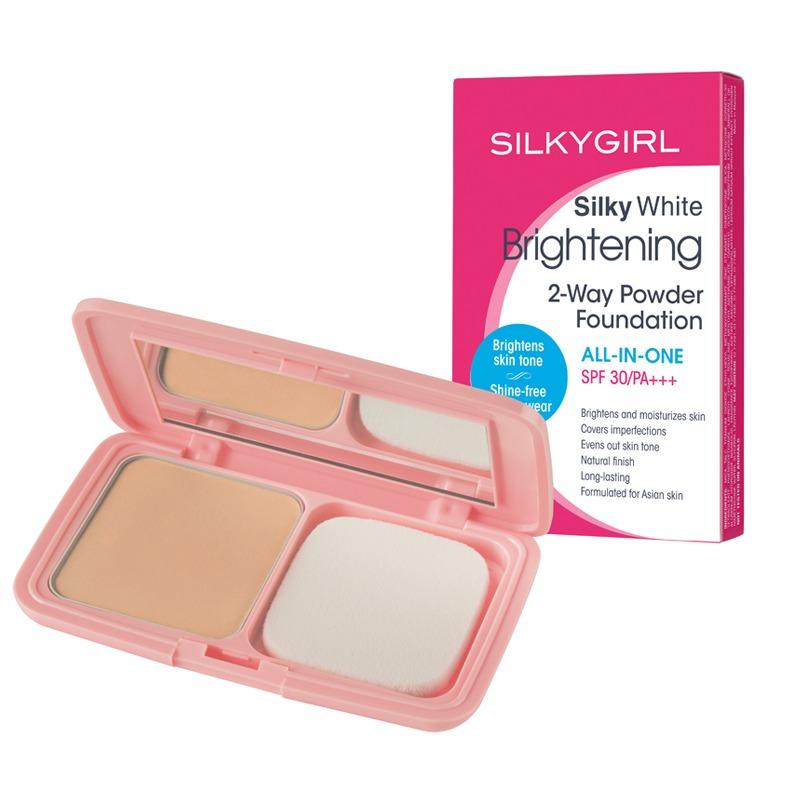 SILKYGIRL Silky White Brightening 2-Way Powder Foundation