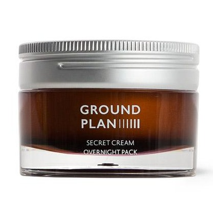 Ground Plan SECRET CREAM OVERNIGHT PACK