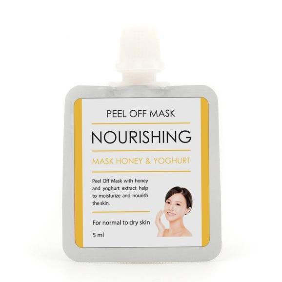 BrunBrun Paris Peel Off Mask Nourishing Mask Honey and Yoghurt