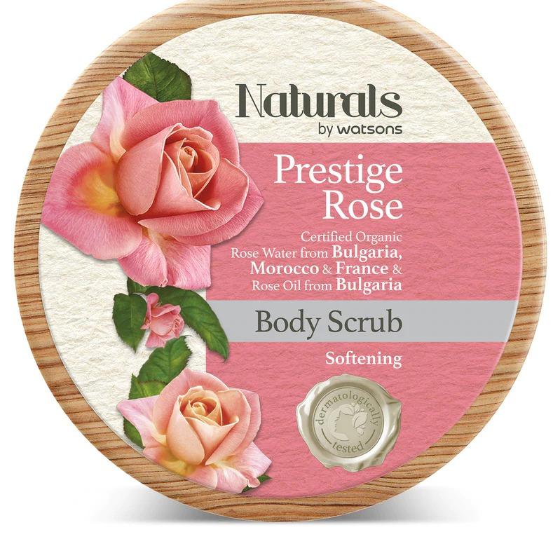 Naturals by Watsons PRESTIGE ROSE BODY SCRUB