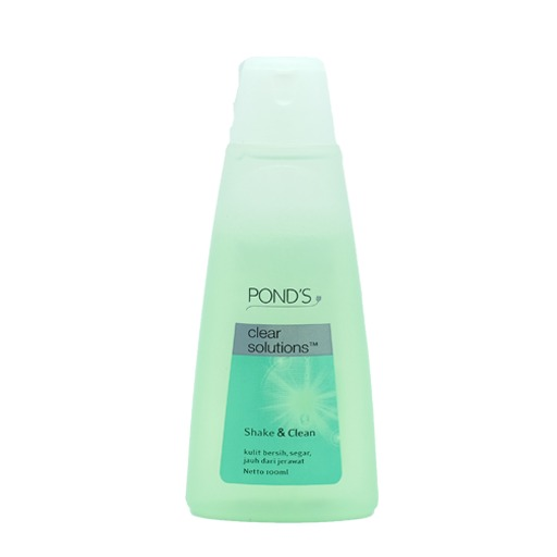 Pond's Shake & Clean Clear Solutions