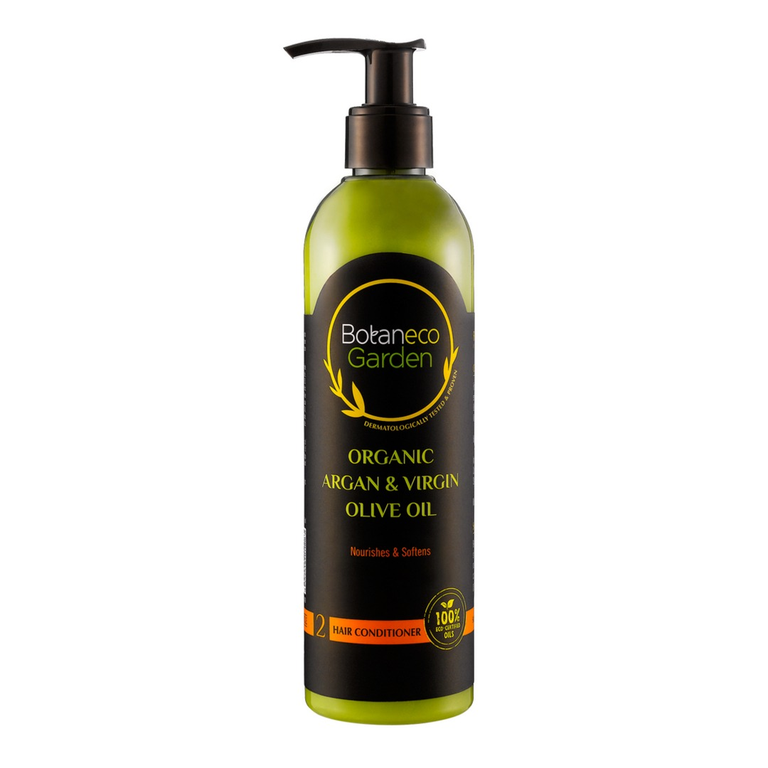 Botaneco Garden Organic Argan and Virgin Olive Oil Conditioner