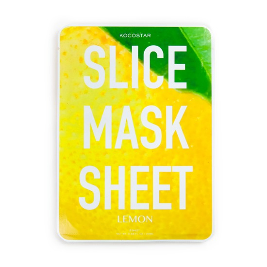 KOCOSTAR LEMON SLICE MASK SHEET