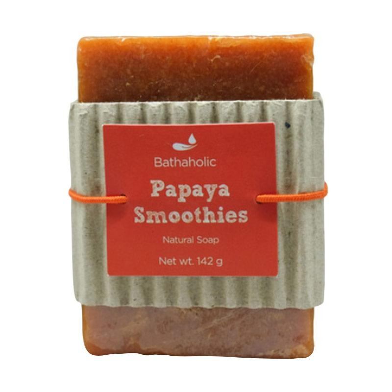 Bathaholic Papaya Smoothies Natural Soap