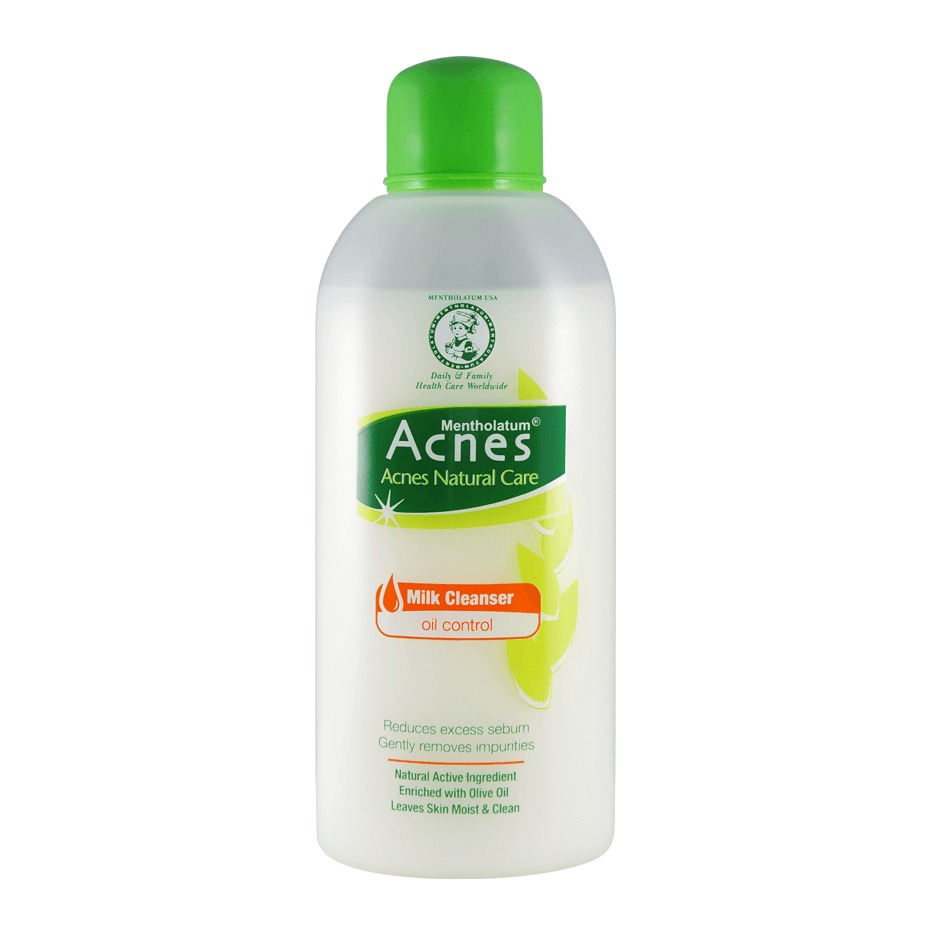 Acnes Natural Care Milk Cleanser Oil Control