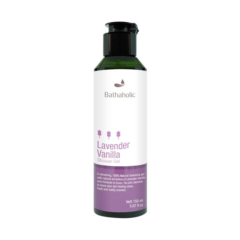 Bathaholic Lavender Vanilla Shower Gel