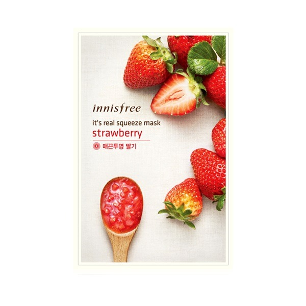 Innisfree It's Real Squeeze Mask Sheet (Strawberry)