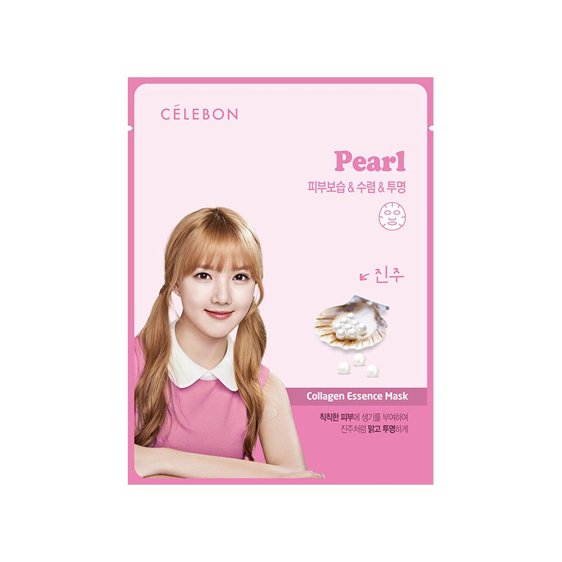 Celebon Collagen Essence Mask Pearl