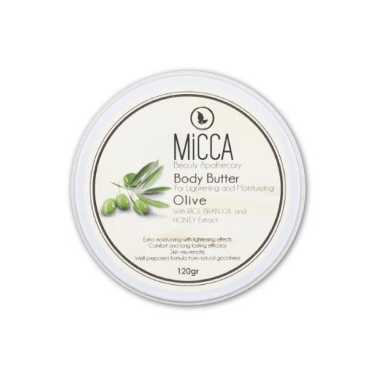 Micca Beauty BODY BUTTER OLIVE