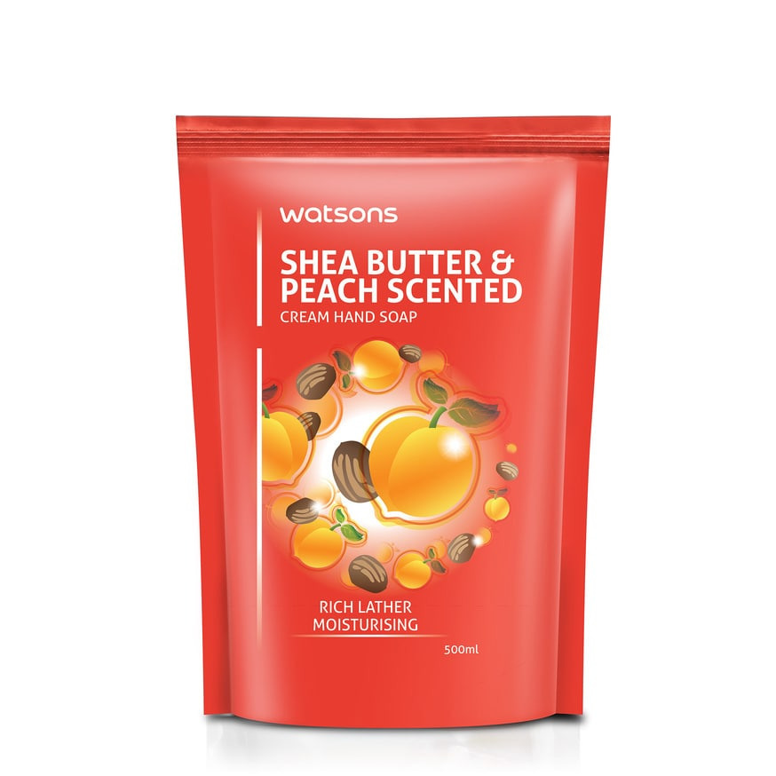 Watson Cream Hand Peach & Shea Butter