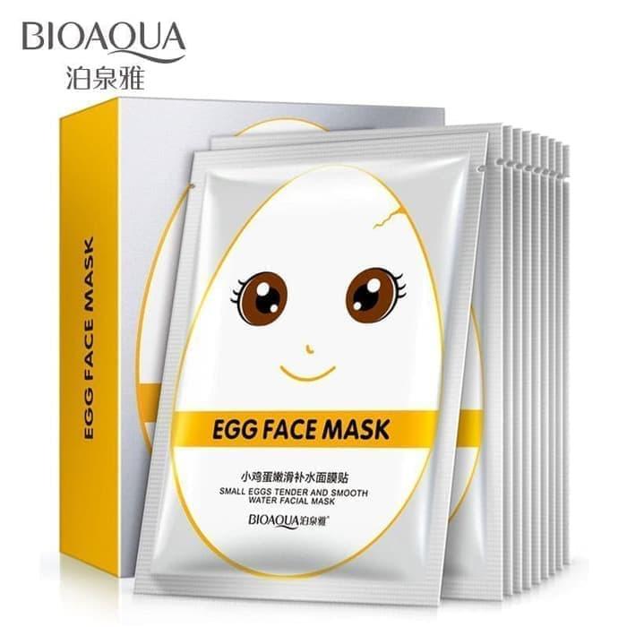 Bioaqua White Egg Tender Mask