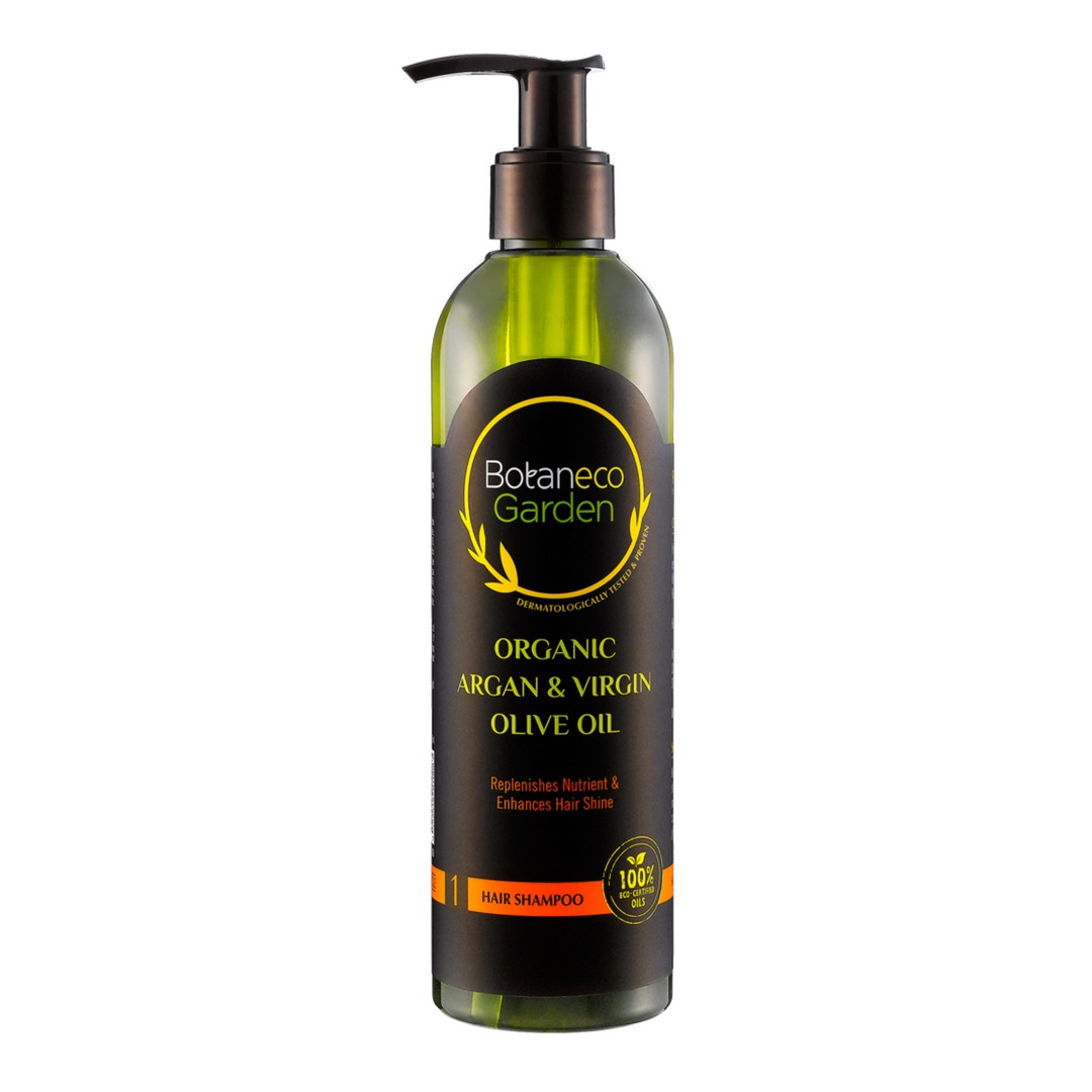 Botaneco Garden Organic Argan and Virgin Olive Oil Shampoo