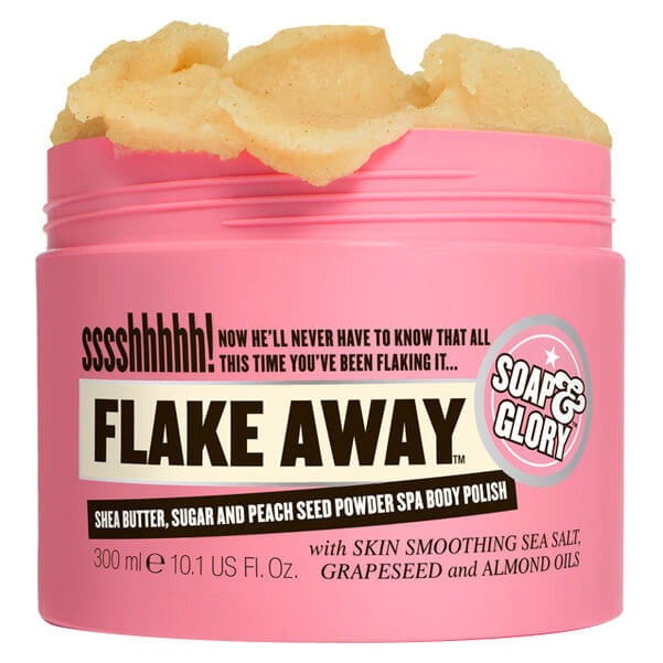 SOAP & GLORY Flake Away Body Polish with Shea Butter and Sea Salt