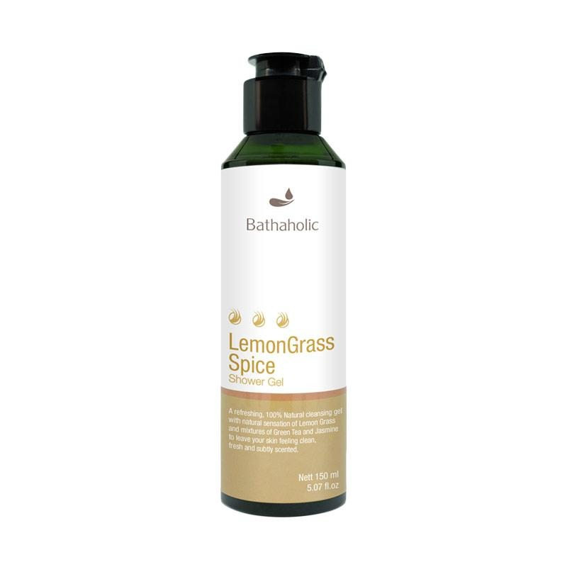 Bathaholic Lemongrass Spice Shower Gel
