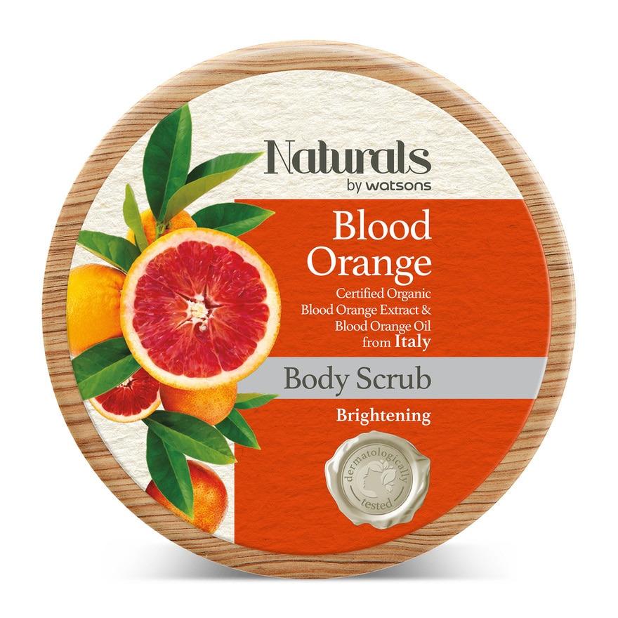 Naturals by Watsons NATURALS BY WATSONS Blood Orange Body Scrub