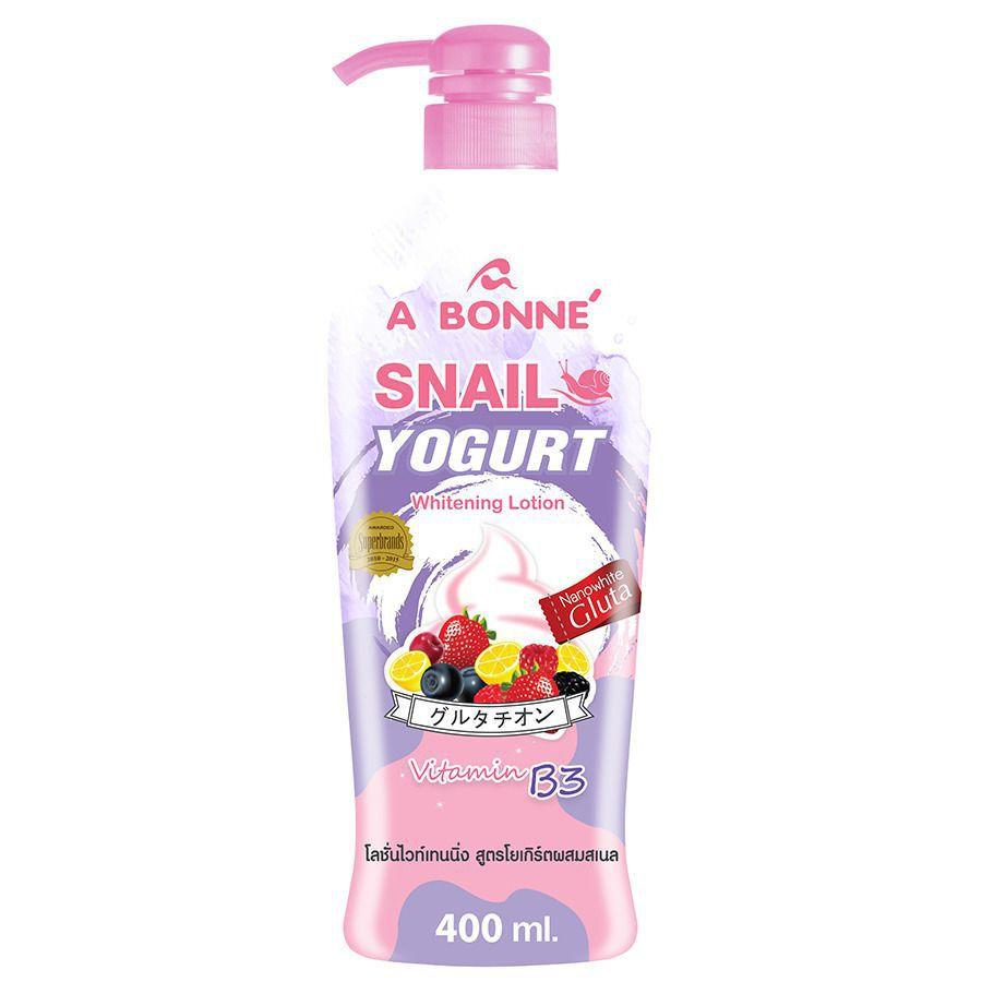 A Bonne Snail Yogurt Whitening Lotion