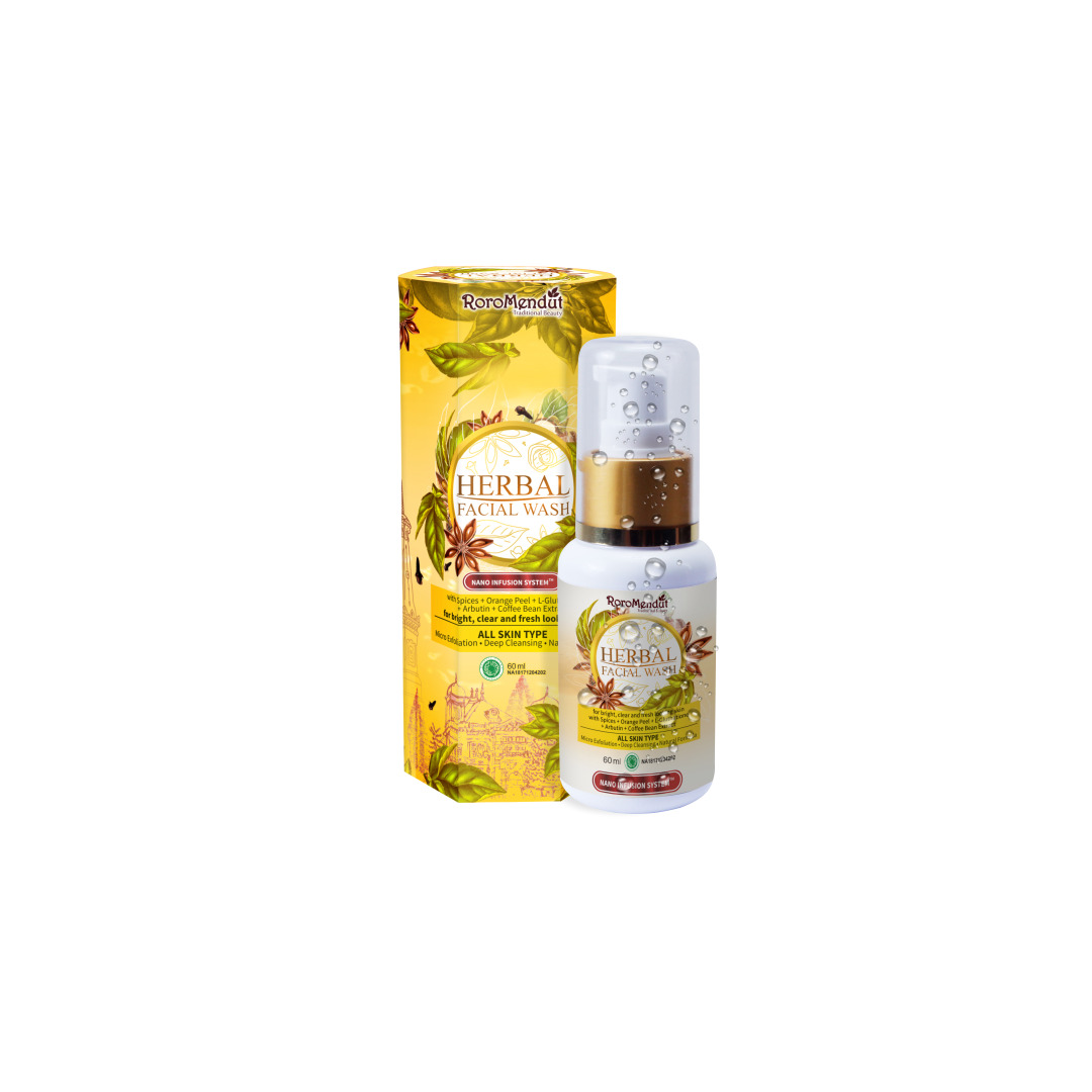 Roro Mendut Herbal Facial Wash Liquid