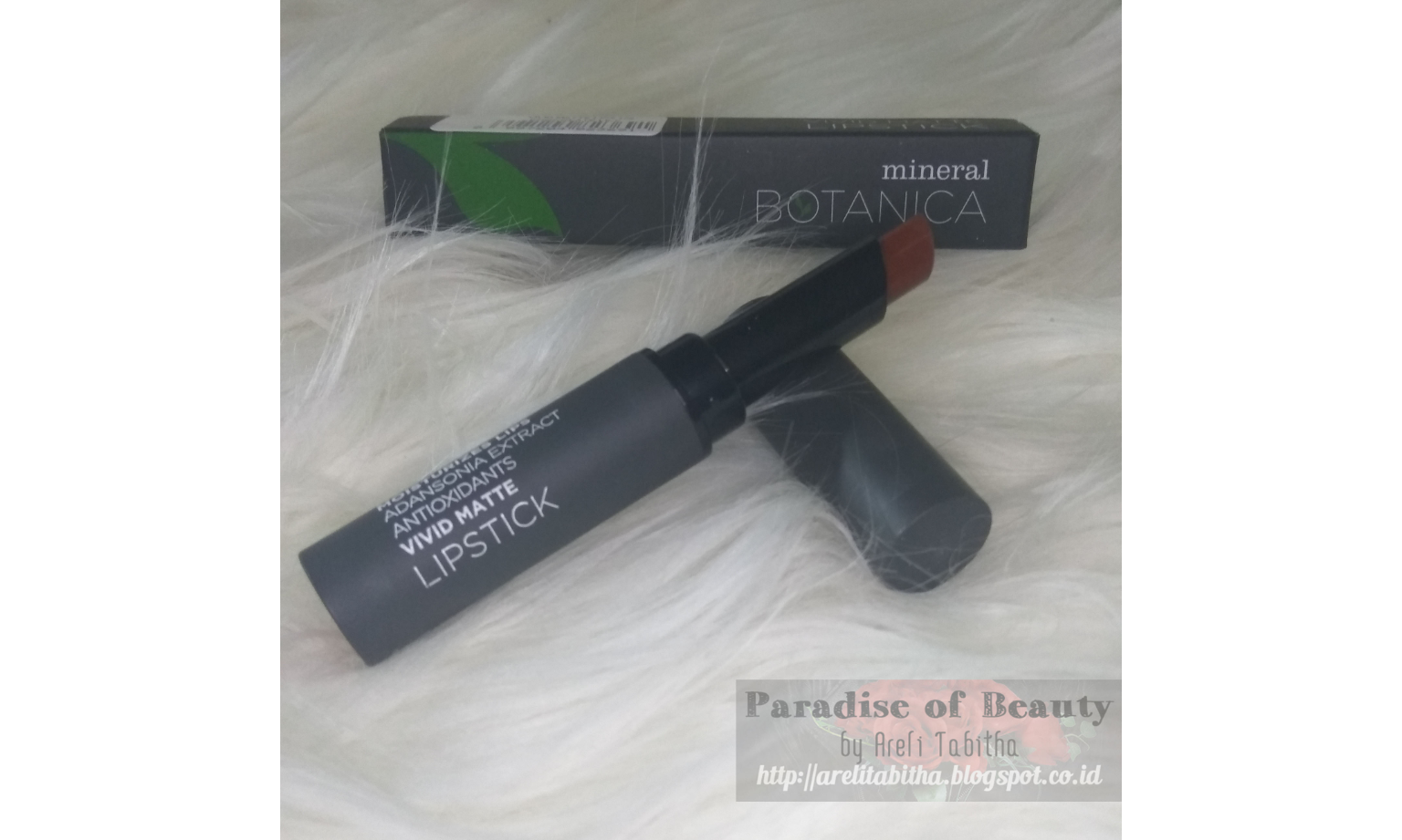 Review Mineral Botanica Vivid Matte Lipstick Beauty Journal By 04 September 2018