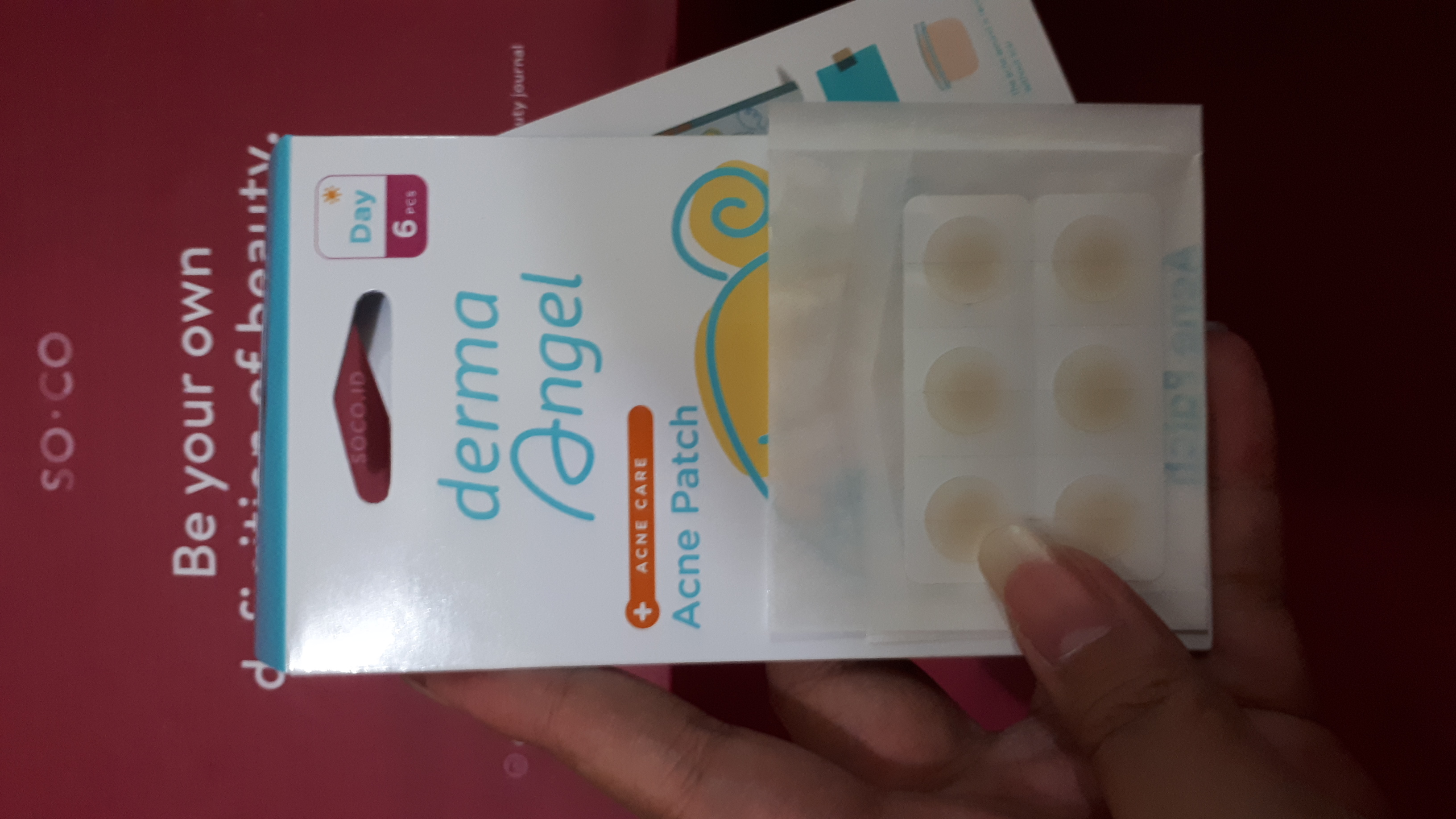 Derma Angel Acne Patch Mix Pack (Day & Night)
