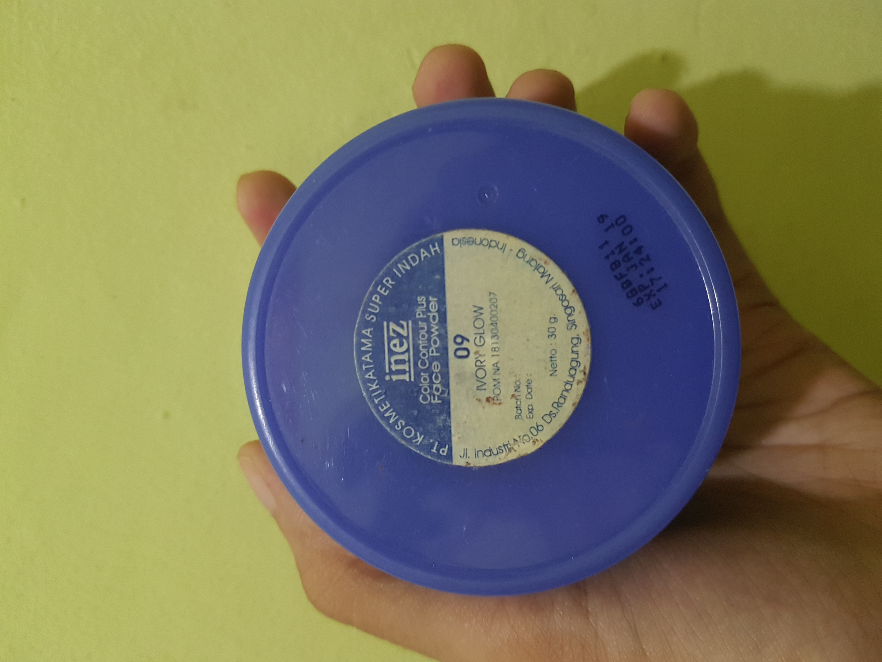 Review Inez Natural Finish Powder Beauty Journal By Sociolla Face