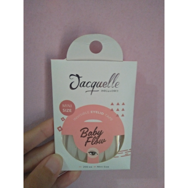 Jacquelle Invisible Eyelid Tape - Baby Flow Mini Size