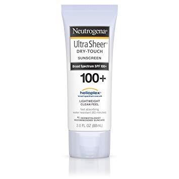 Neutrogena Ultra Sheer® Dry-Touch Sunscreen Broad Spectrum SPF 100+