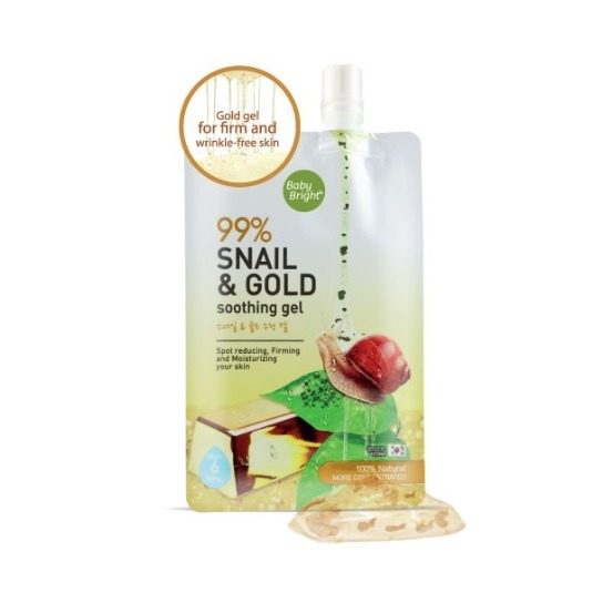 Cathy Doll Bright Snail & Gold Soothing Gel