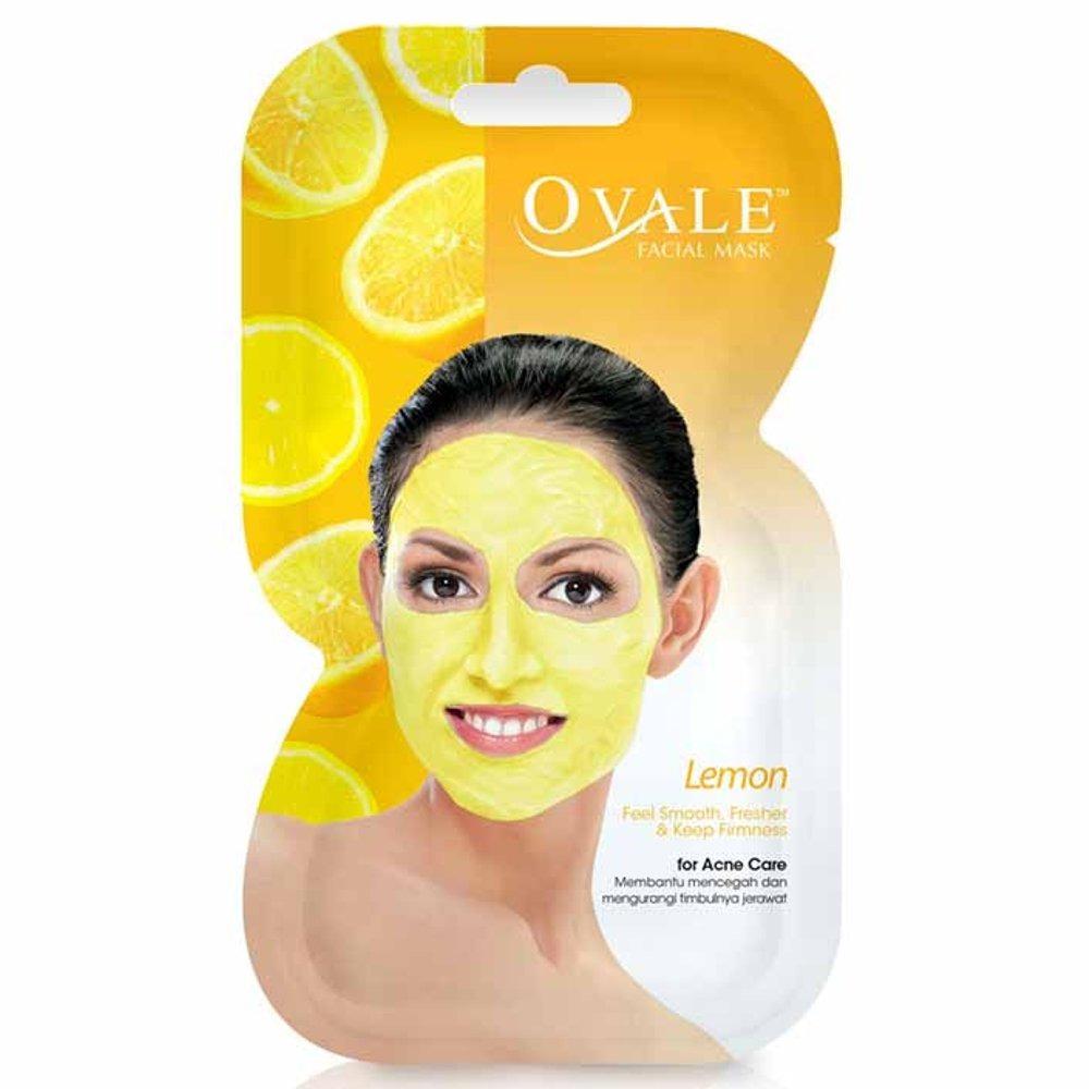 Ovale Facial Mask Lemon Sachet