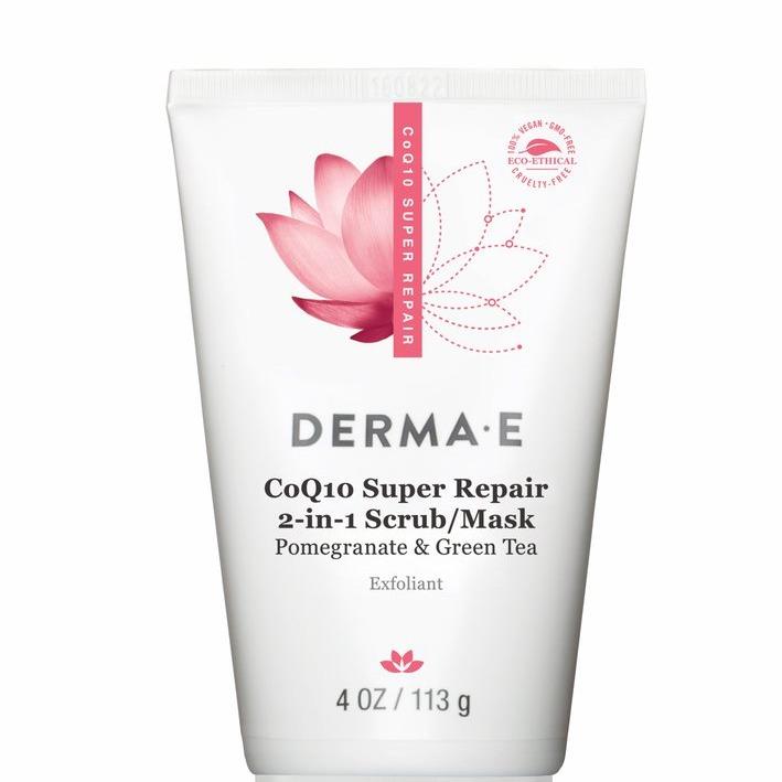 Derma E CoQ10 Super Repair 2-in-1 Scrub/Mask
