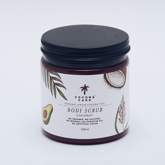 Cocona Care Body Scrub Coconut