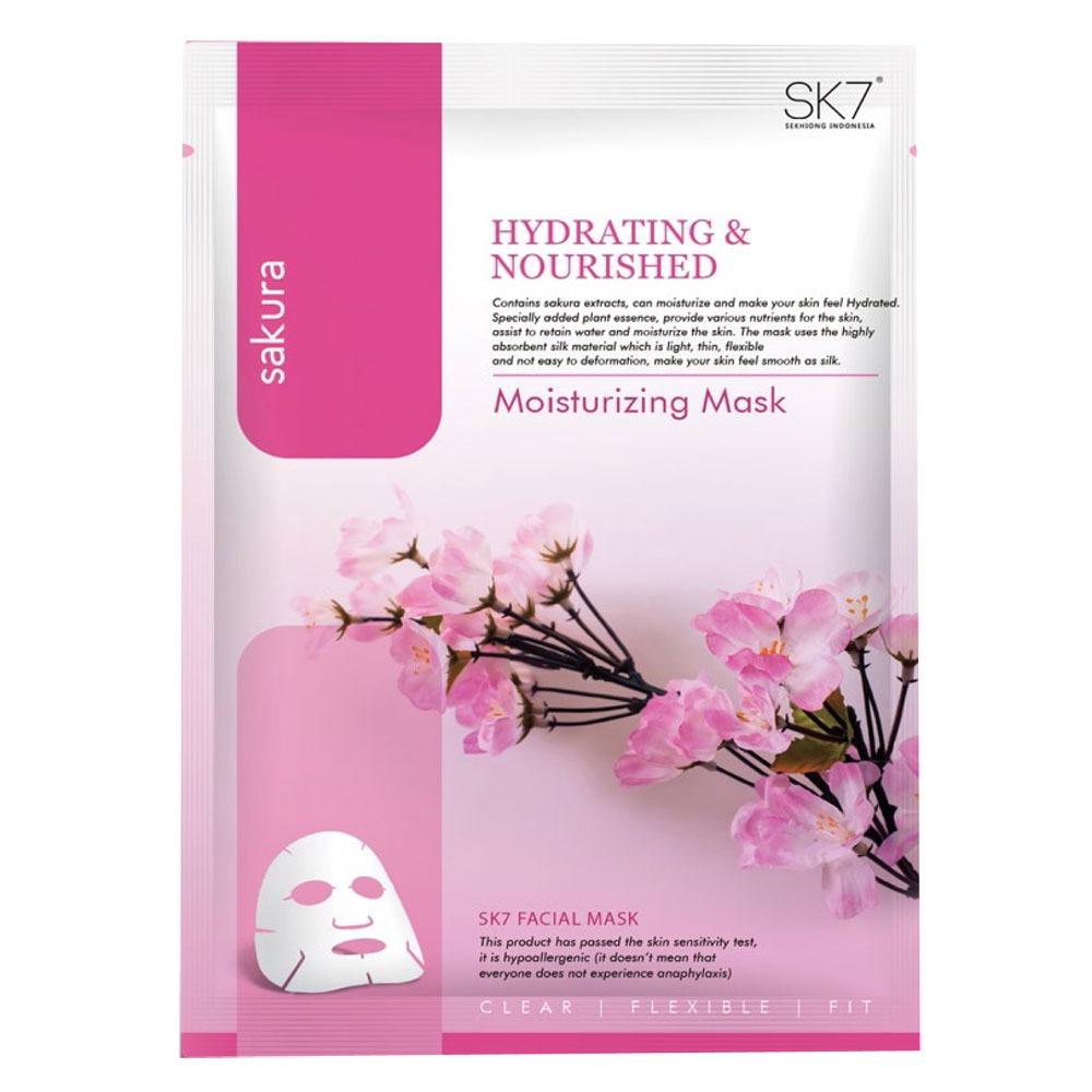 SK7 Sakura Moisturizing Mask
