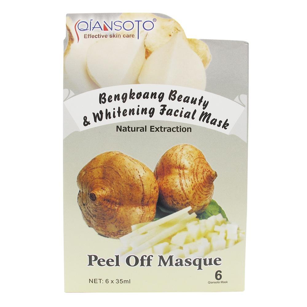 Qiansoto Bengkoang Beauty & Whitening Facial Mask