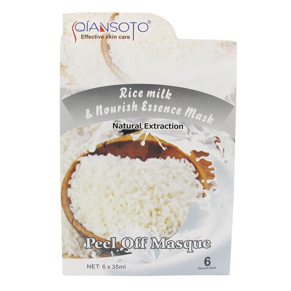 Qiansoto Rice Milk & Nourish Essence Mask