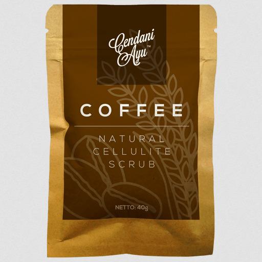Cendani Ayu Coffee Natural Cellulite Scrub