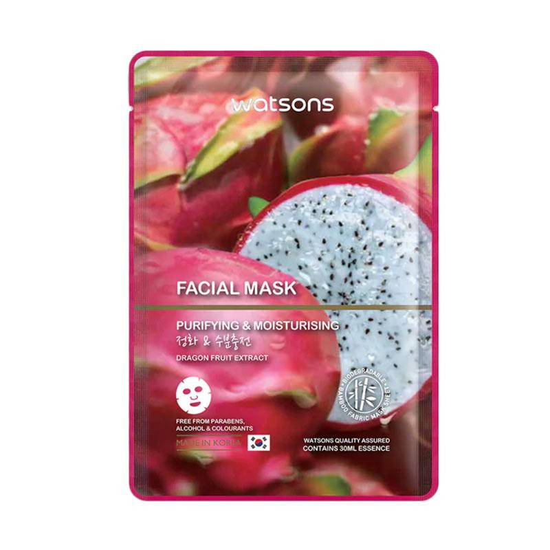 Watson Dragon Fruit Extract Facial Mask Mask