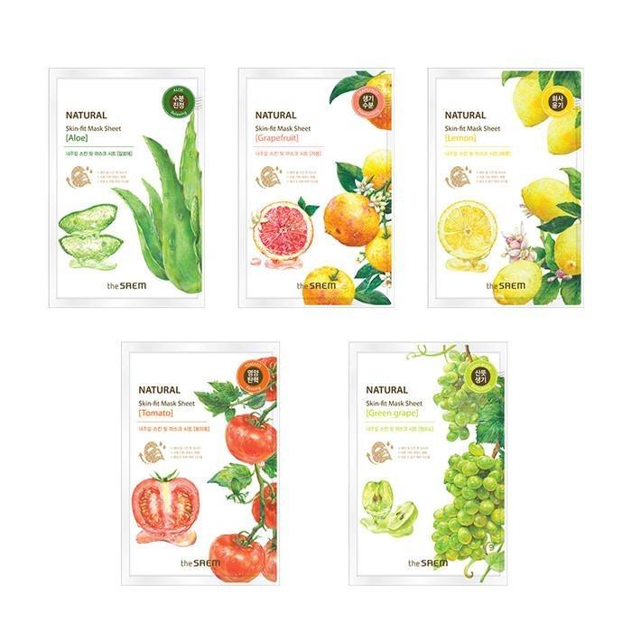 the saem Natural Mask Sheet
