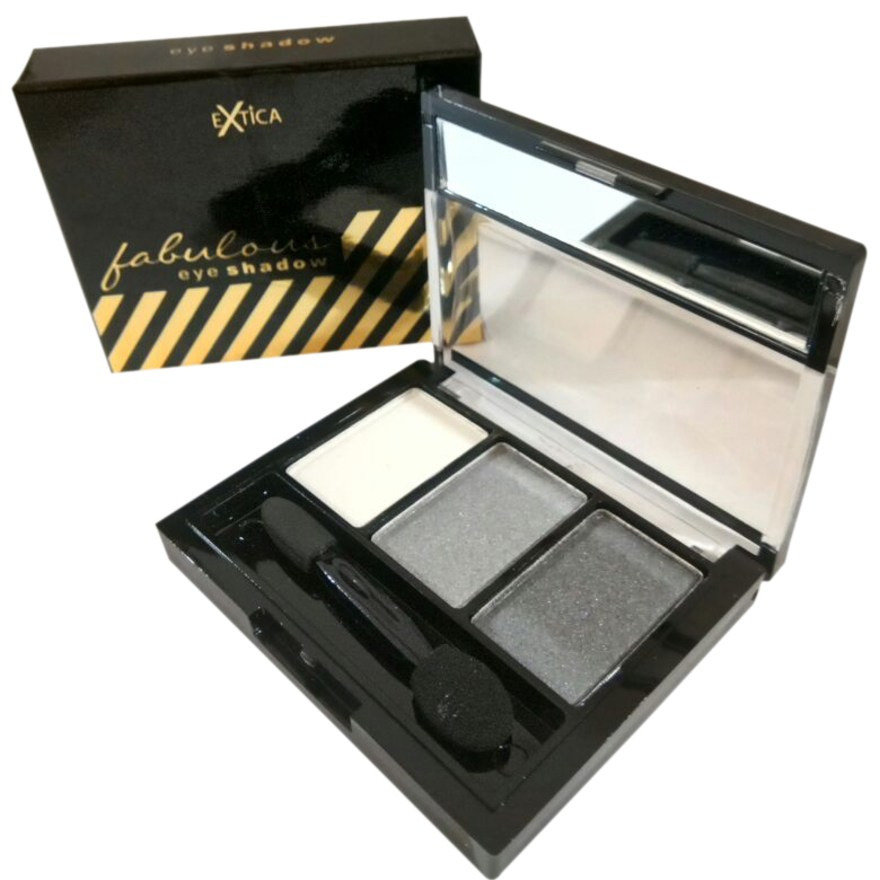 Extica Fabulous Eye Shadow #003 Sparkling White
