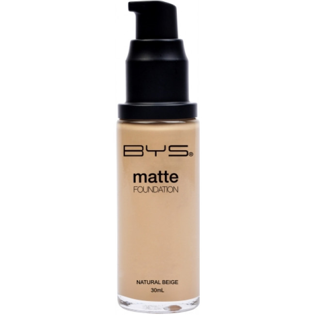 BYS Foundations Liquid Pump Matte Natural Beige