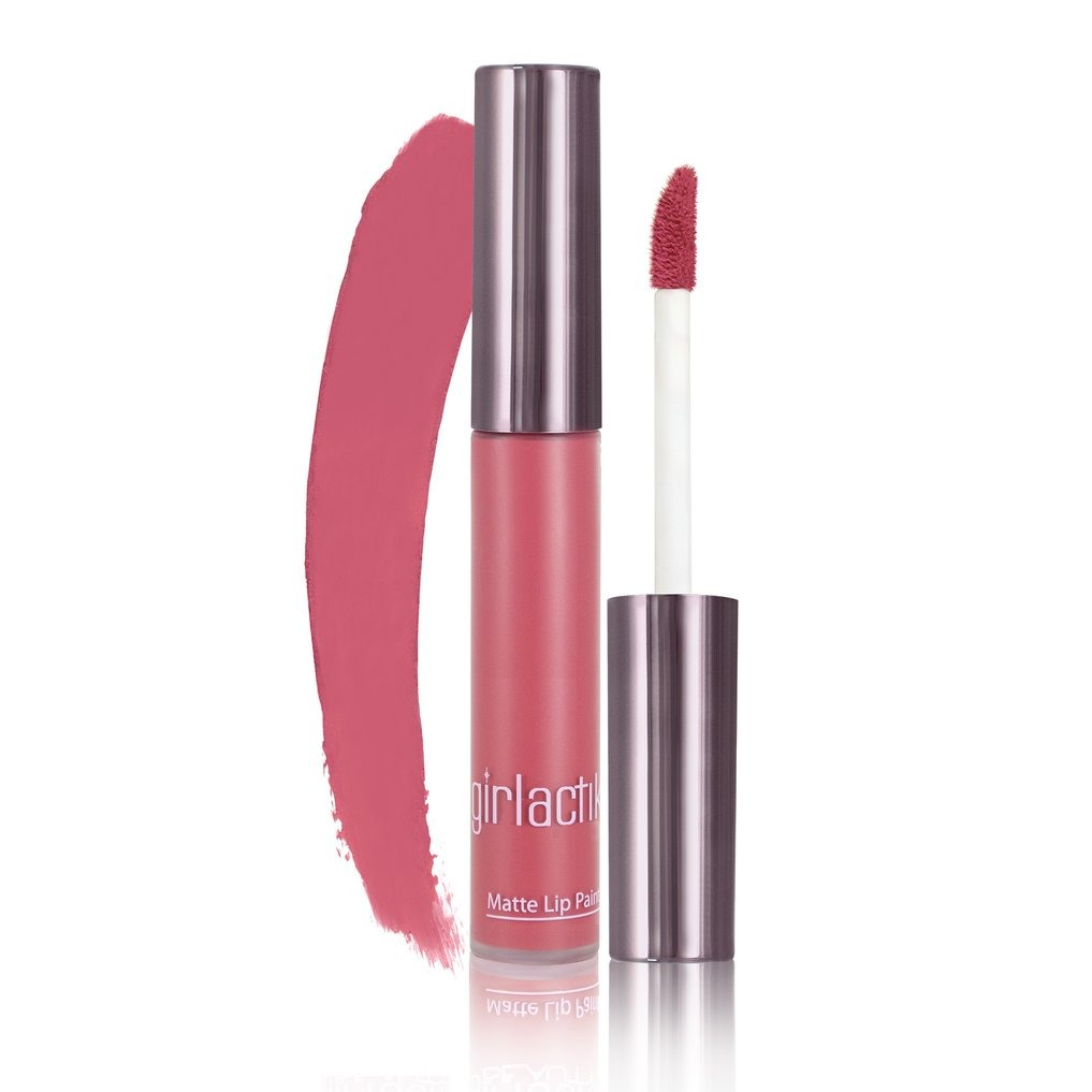 Girlactik Long Lasting Matte Lip Paint Liquid Lipstick